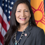 Deb Haaland Sworn in as First Native American Cabinet Secretary in United States History