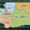 Map of DNR regions