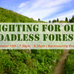Fighting for our Roadless Forests