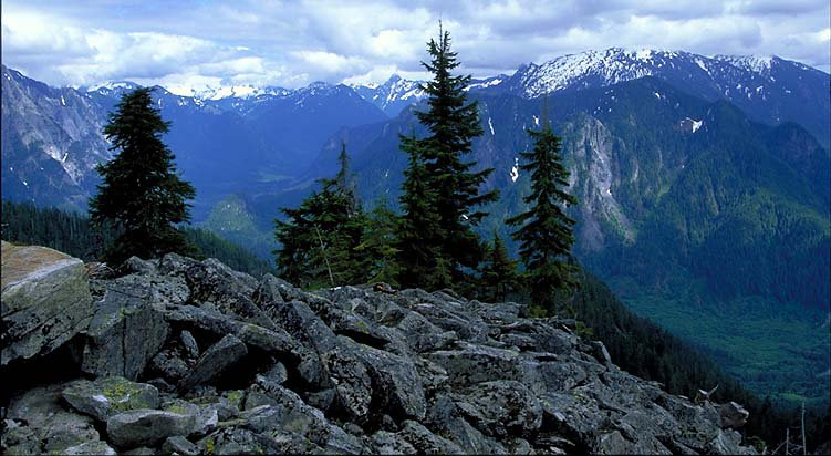 Bessemer Mountain in Alpine Lakes Wilderness.  Photo Courtesy of WA Wild.