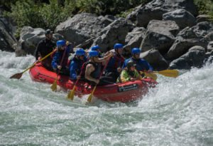 Whitewater rafting on wild and scenic rivers