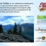 Washington Wild: Alpine Lakes Pale Celebration Challenge!