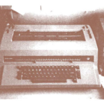 First WWC Typewriter 1981