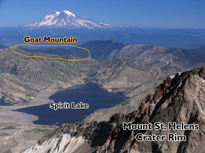 Mt St Helens Overview Mine, Photo Courtesy of WA Wild.