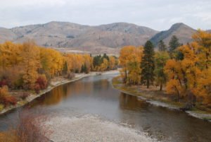 Proposed mining could threaten the headwaters of the Methow River. Photo courtesy of Thomas O'Keefe.