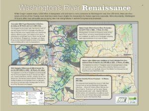 Map of Washington's Wild & Scenic Rivers