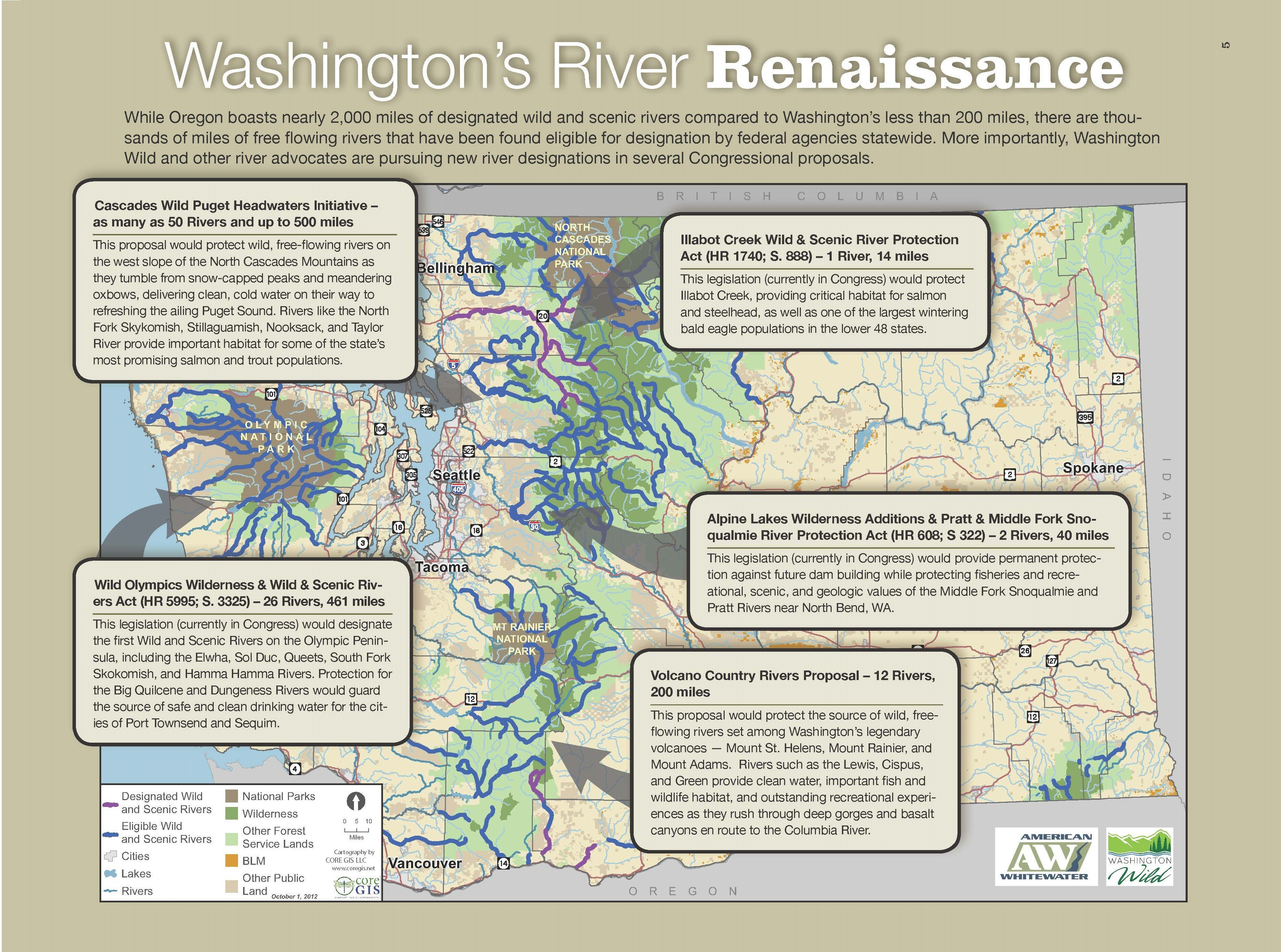 Happy Anniversary to Washington's Wild & Scenic Rivers on pend oreille river washington state map, columbia river washington state map, skagit river washington state map, snake river washington state map,