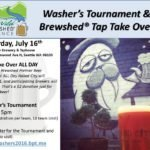 Washer's Tournament & Tap Take Over