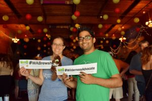 Volunteers at Beer Fest, Photo Courtesy of WA Wild