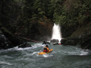 West Fork Humptulips River Kayaking, by Tom O'Keefe