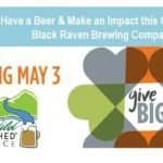 #GiveBIG at Black Raven Brewing Company