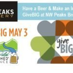 #GiveBIG Happy Hour at NW Peaks Brewery